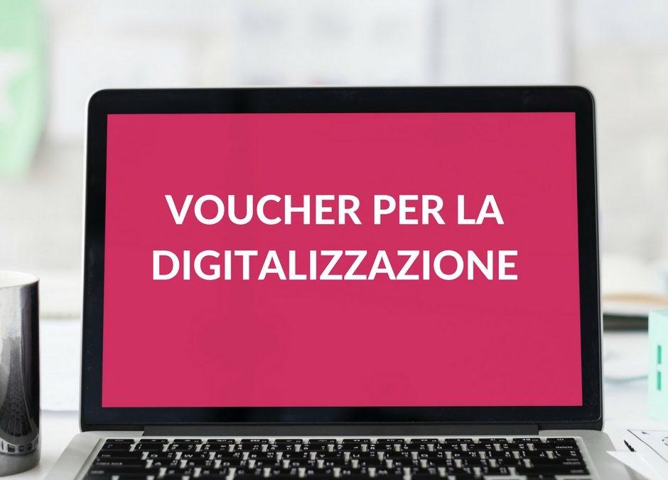 Voucher digitalizzazione PMI: fino a 10 mila euro a fondo perduto